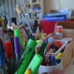 Stifte und Bastelkram