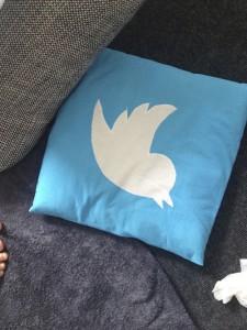 Twitter Kissen