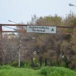 Griechenland Baustelle Flughafen
