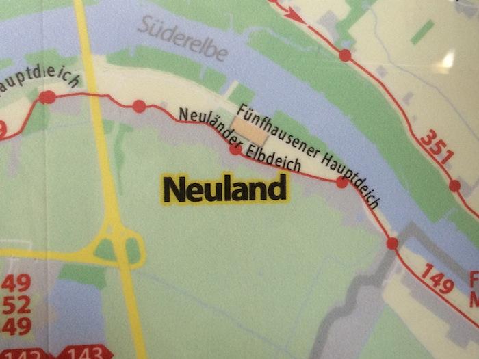 Neuland Karte