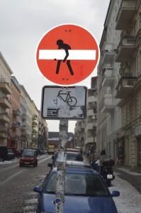 verboten Schild