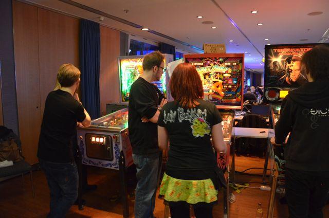 Gaming Area auf CCC HH